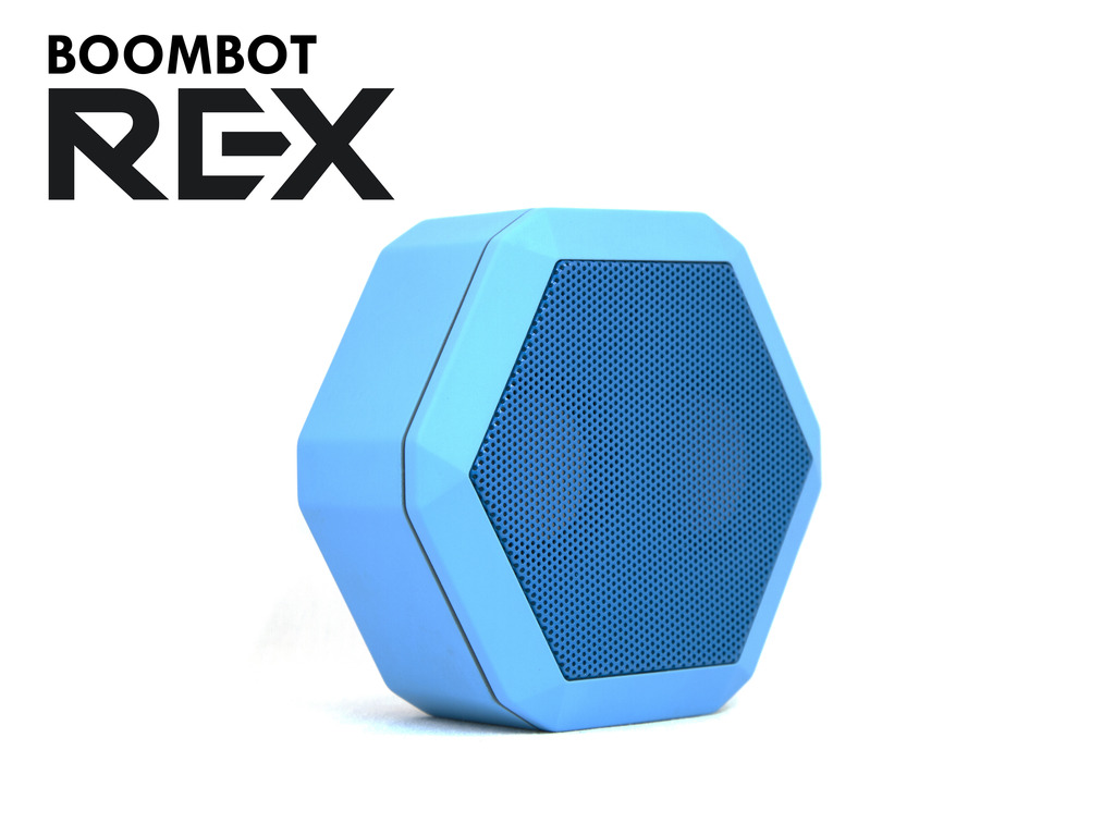 Boombot REX Ultraportable Speaker's video poster