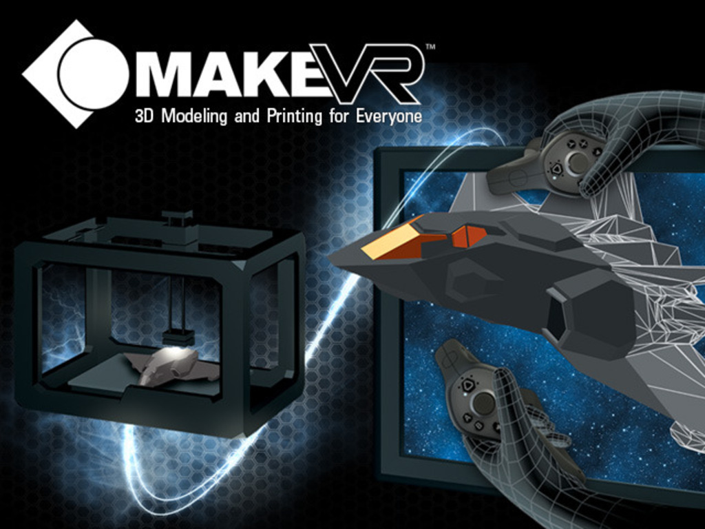 MakeVR: 3D Modeling and Printing for Everyone (Canceled)'s video poster