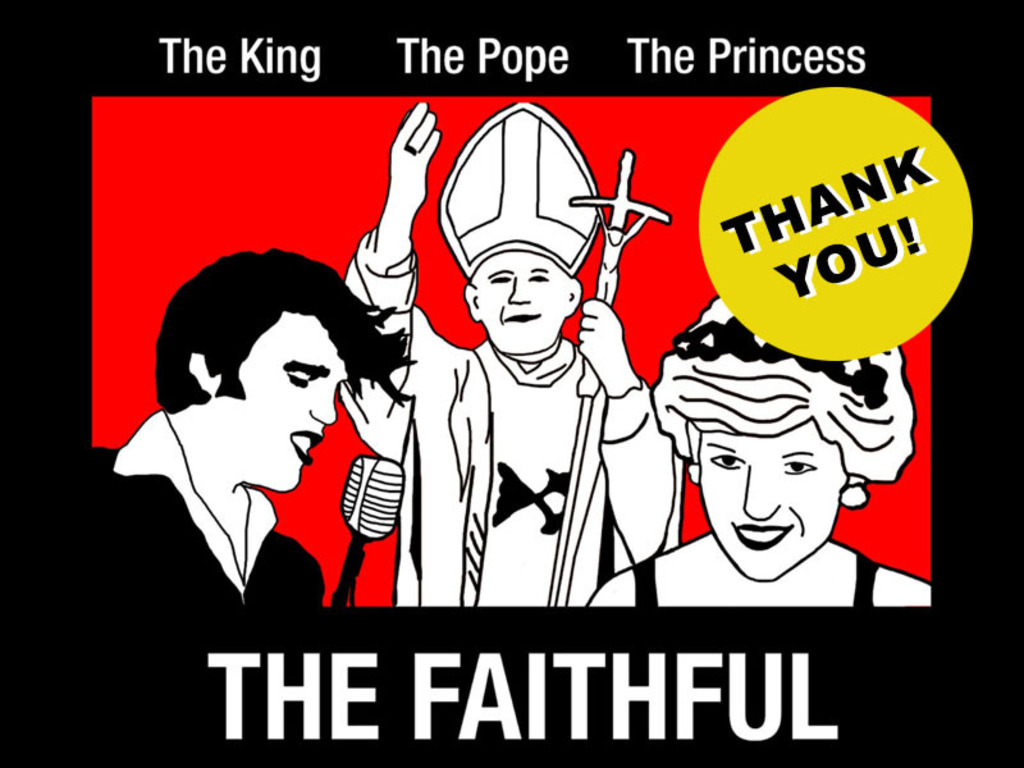 THE FAITHFUL: The King, the Pope, the Princess's video poster