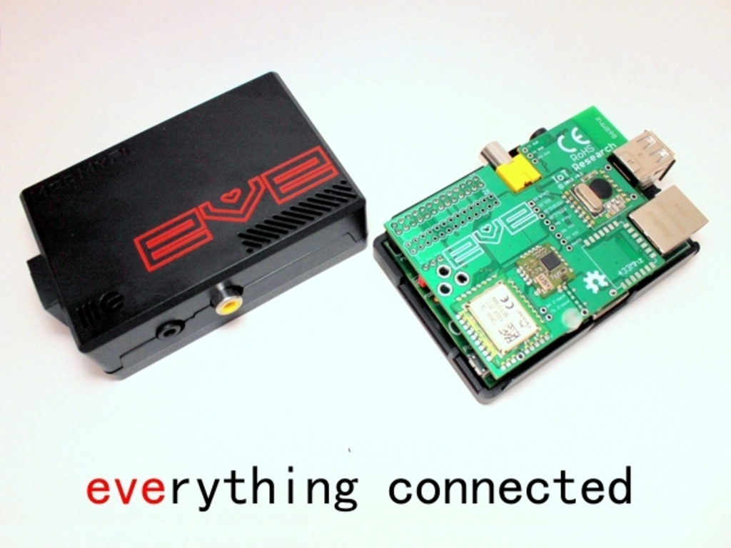 EVE Alpha - Raspberry Pi wireless development hardware's video poster