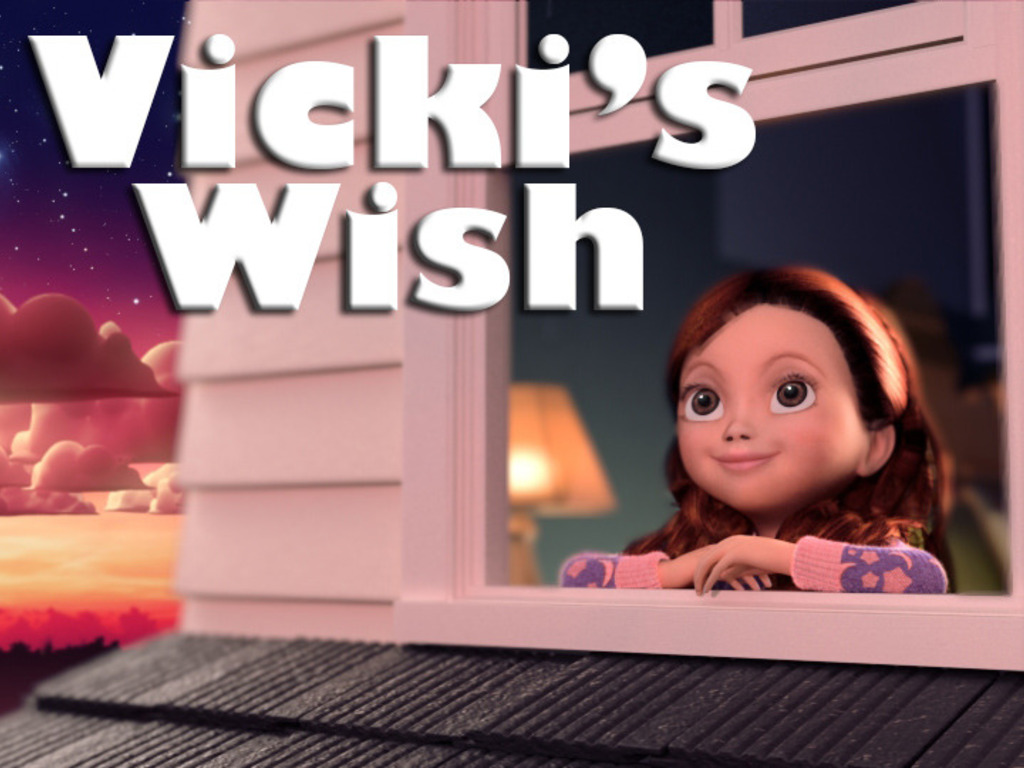 Vicki's Wish: a digitally illustrated book for iPad's video poster