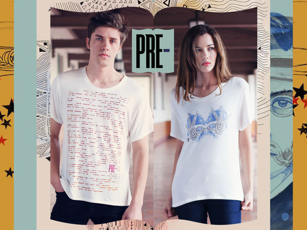 PRE- Apparel First Collection of Intelligent Graphic Tees's video poster