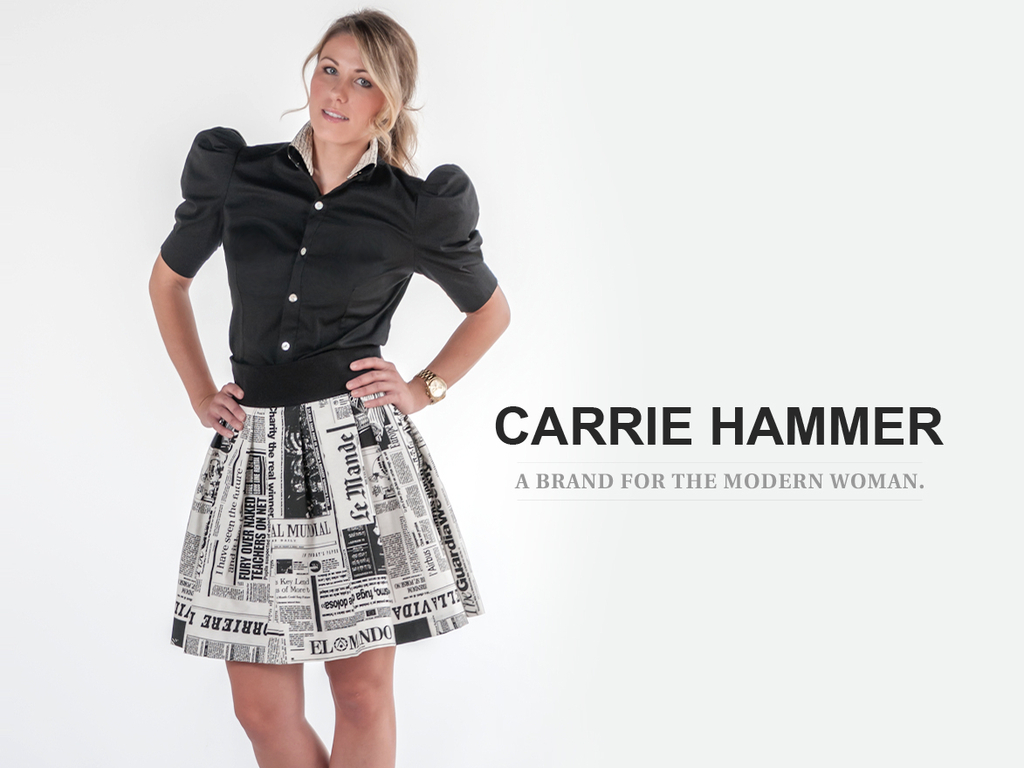 A Brand For The Professional Woman: CARRIE HAMMER's video poster