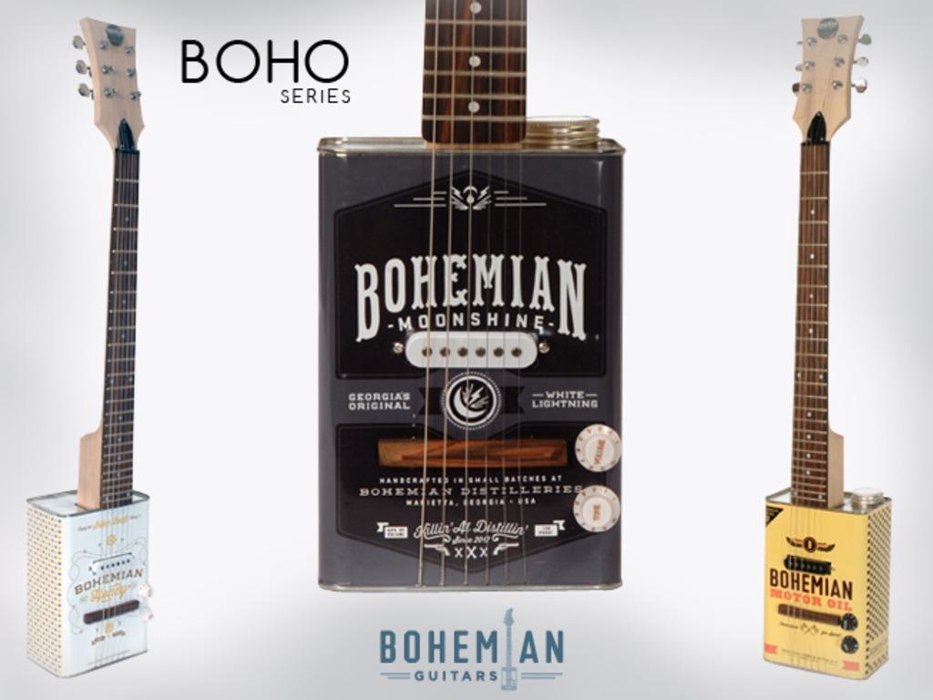 Bohemian Guitars - Oil Can Guitar's video poster
