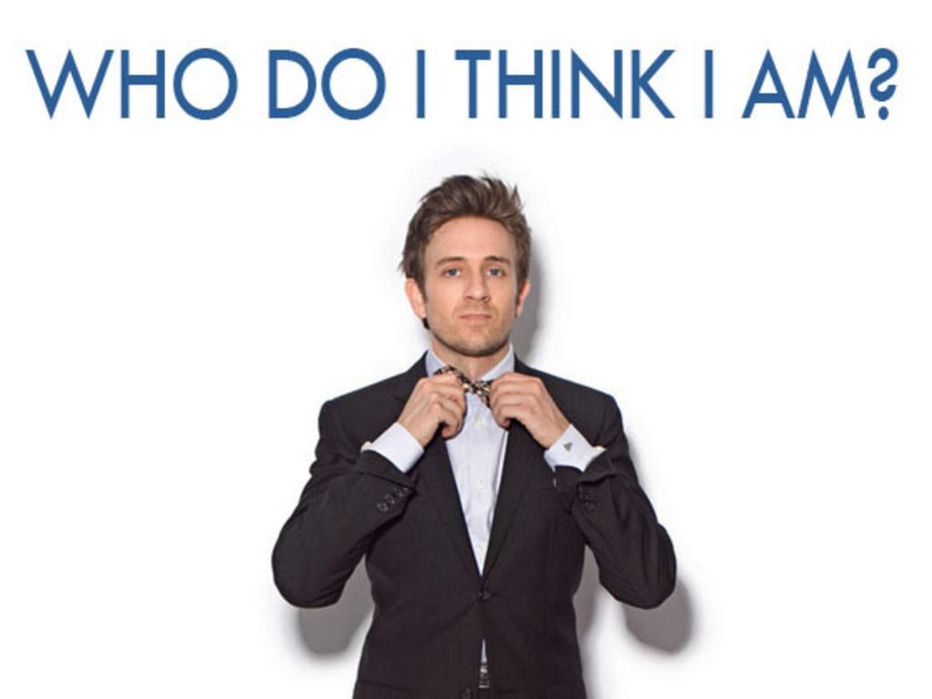 """Who Do I Think I Am?"" - Tom Lenk's journey to Edinburgh.'s video poster"