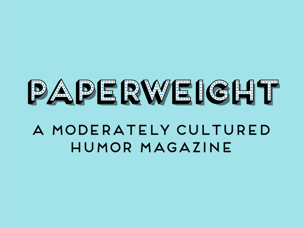 Paperweight Magazine's video poster