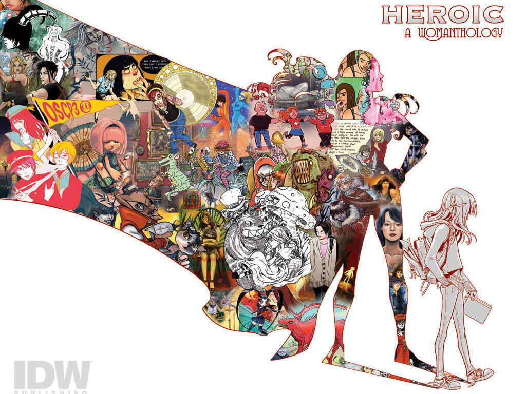 Womanthology; Massive All Female Comic Anthology!'s video poster