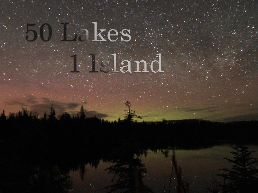Fifty Lakes One Island's video poster