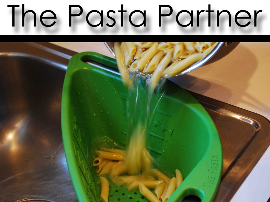 The Pasta Partner: Measuring Hands-Free Kitchen Colander!'s video poster