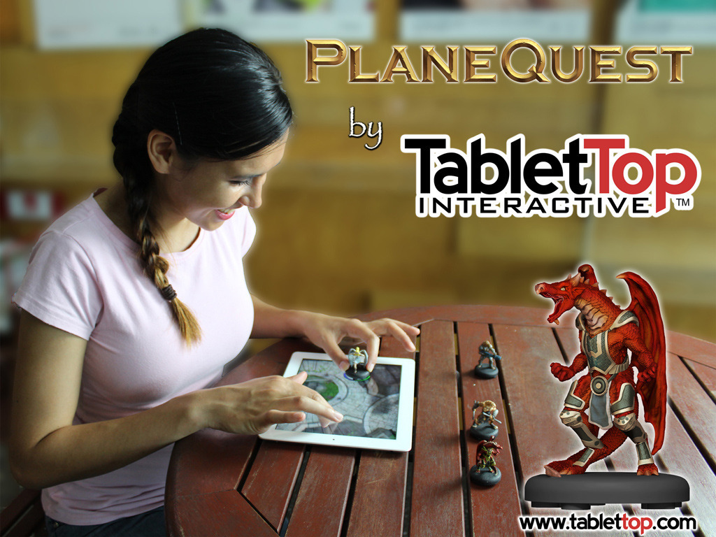 PlaneQuest, where Miniatures + Tablets = TabletTop gaming!'s video poster