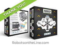 Robots on the Line - a robot-building board game