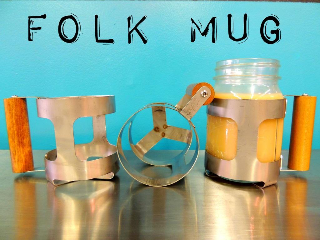 FOLK MUG: Transform your mason jar into a mason mug.'s video poster