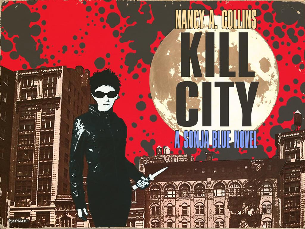 KILL CITY: The New Sonja Blue Novel's video poster