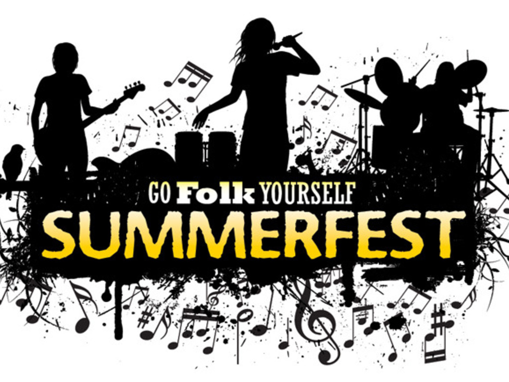 The Go Folk Yourself Summer Fest's video poster