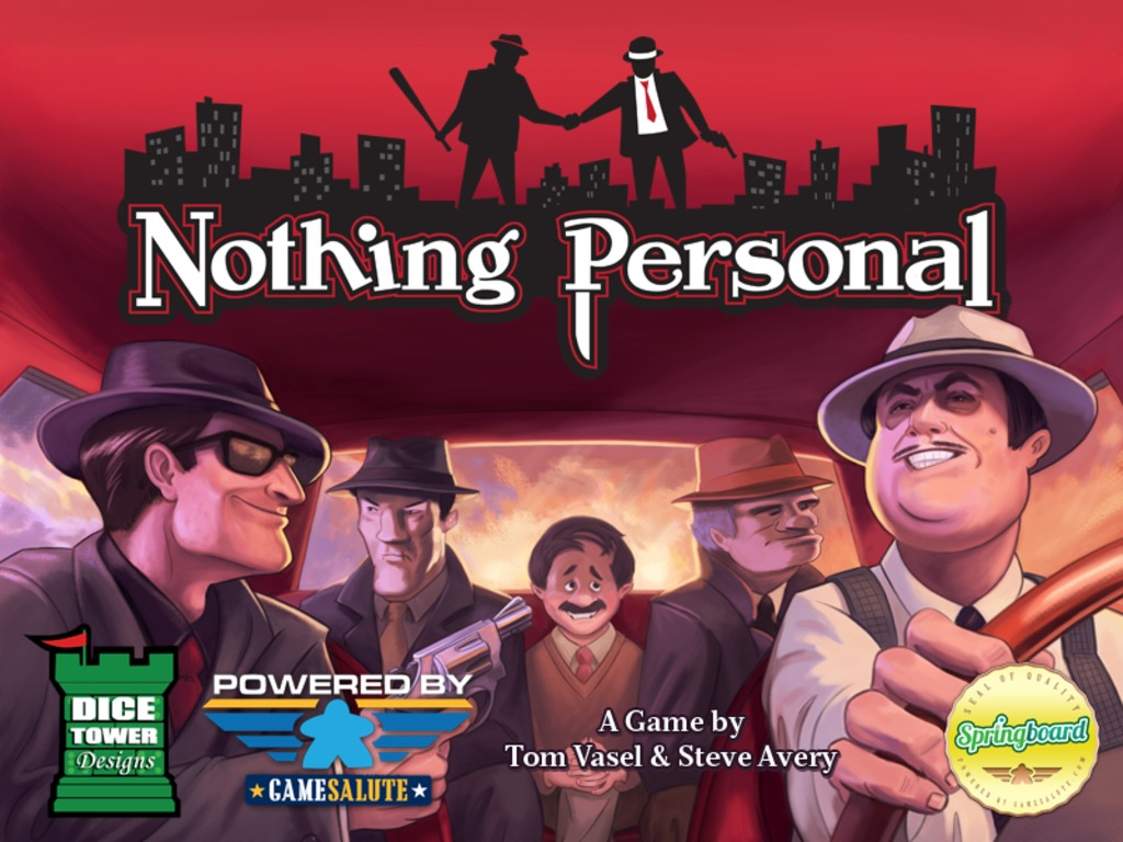 Nothing Personal's video poster
