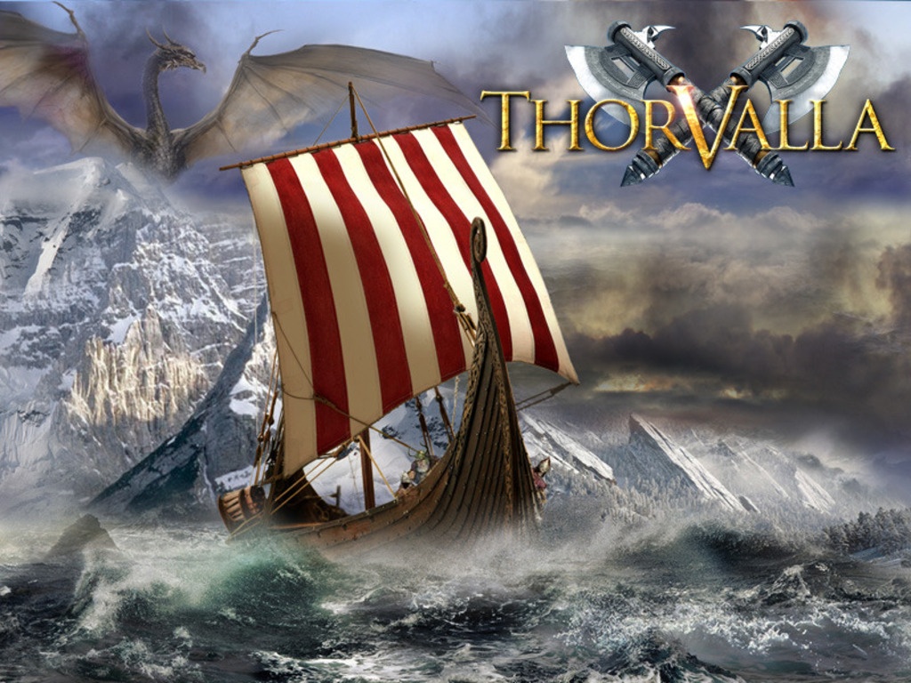 THORVALLA an RPG by Guido Henkel (Canceled)'s video poster