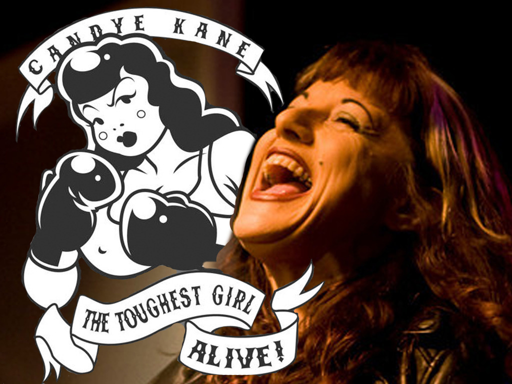 THE TOUGHEST GIRL ALIVE! The Life & Times of Candye Kane's video poster