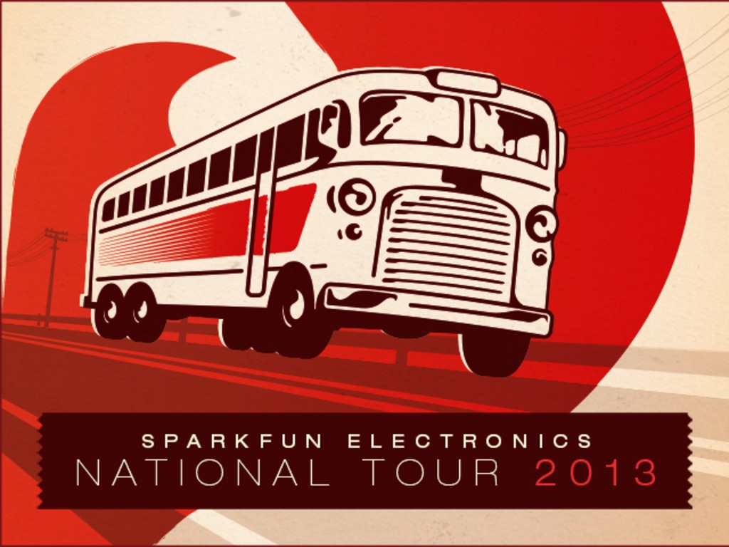 SparkFun National Tour's video poster