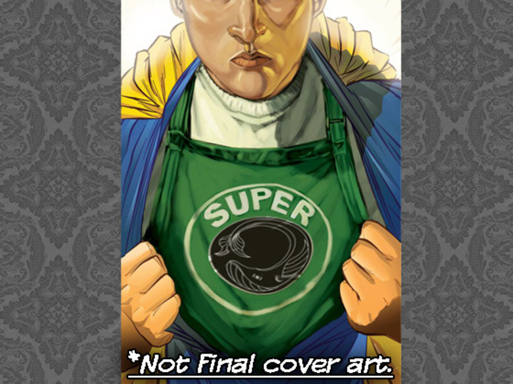 Super - A 180 page graphic novel from Aberrant Press's video poster