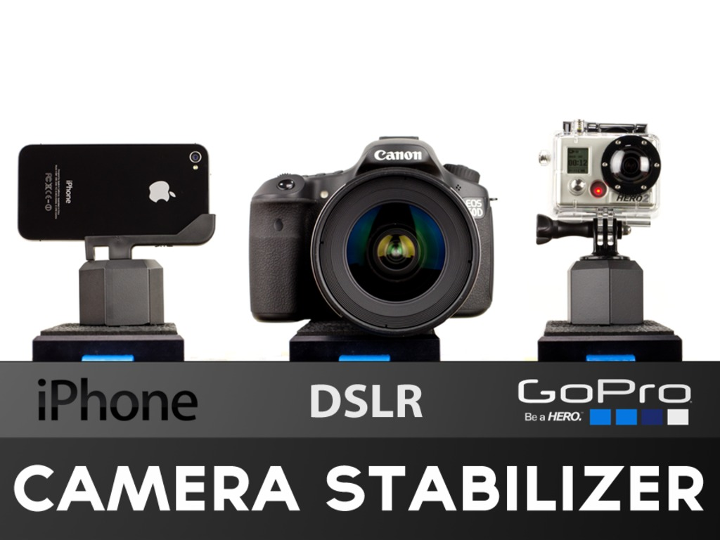 EZ-Steady- iPhone, DSLR, GoPro Camera Stabilizer's video poster