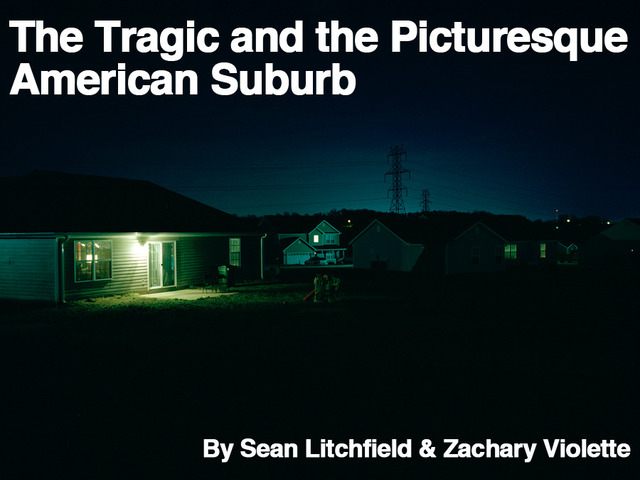 The Tragic and the Picturesque American Suburb's video poster