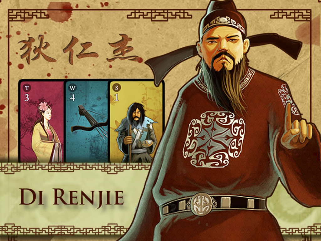 Di Renjie - Deduction Card Game for 2 to 6 Players's video poster
