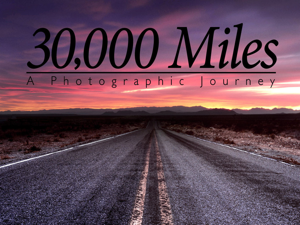 30,000 Miles - A Journey Across North America's video poster