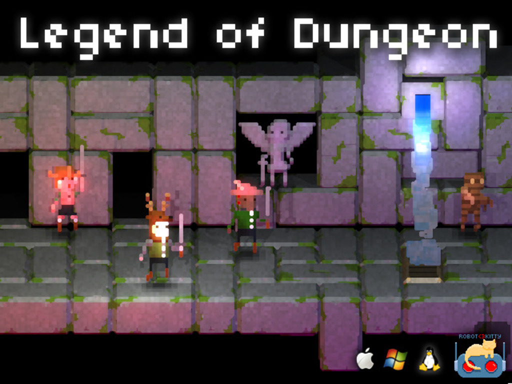 Legend of Dungeon's video poster