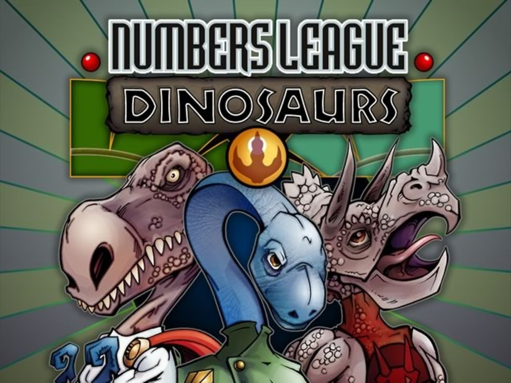 Numbers League Dinosaurs Expansion's video poster