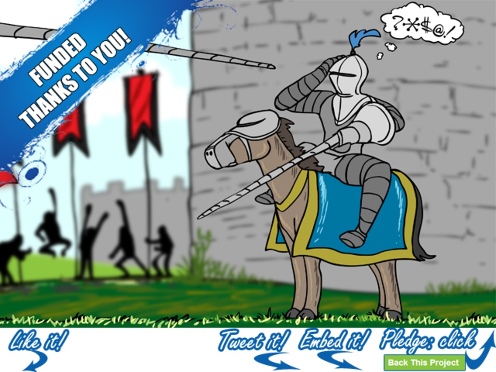 %*&^! - Illustrative History in Profanity - KICKSTARTED!'s video poster
