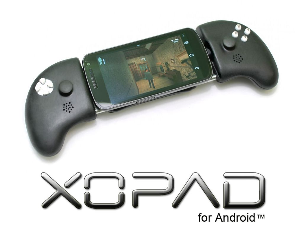 XOPAD - an Open Source USB Gamepad for Android smartphones's video poster