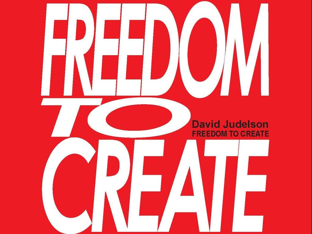 Freedom to Create: back the publication 's video poster