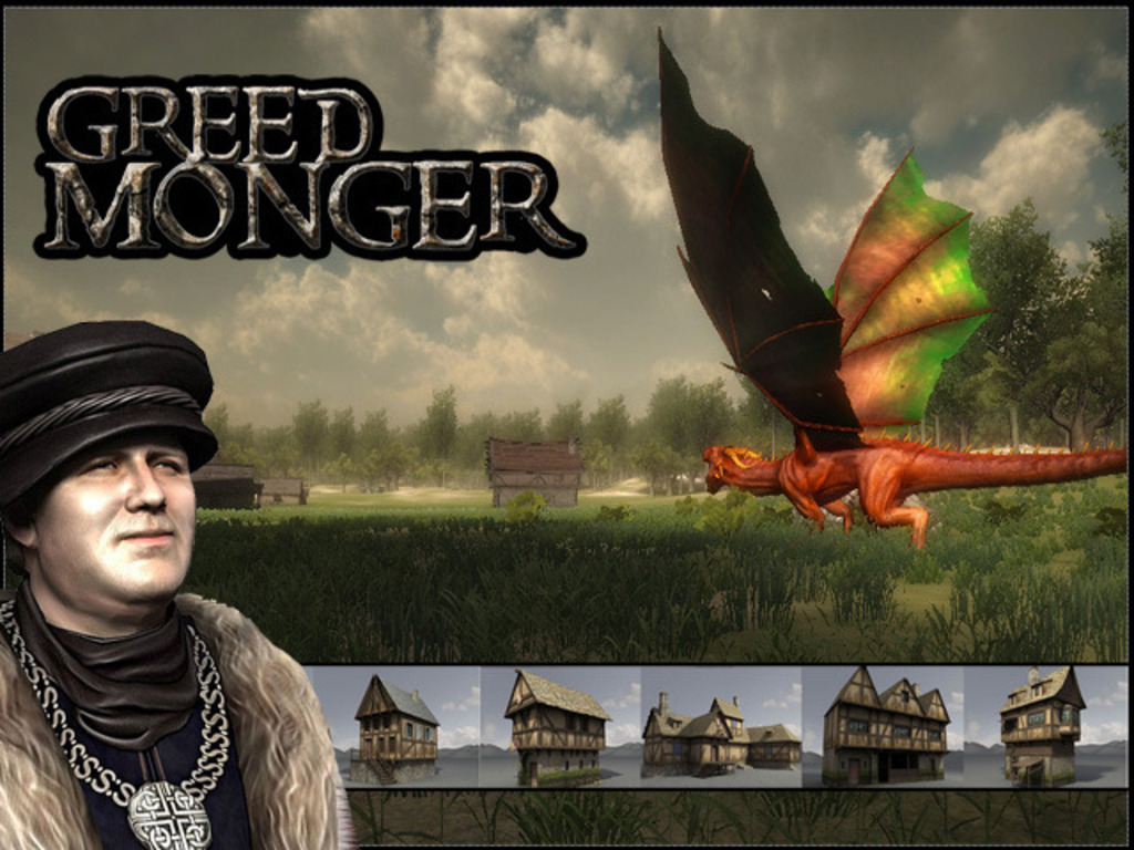 Greed Monger - A Crafting Focused Sandbox MMORPG's video poster
