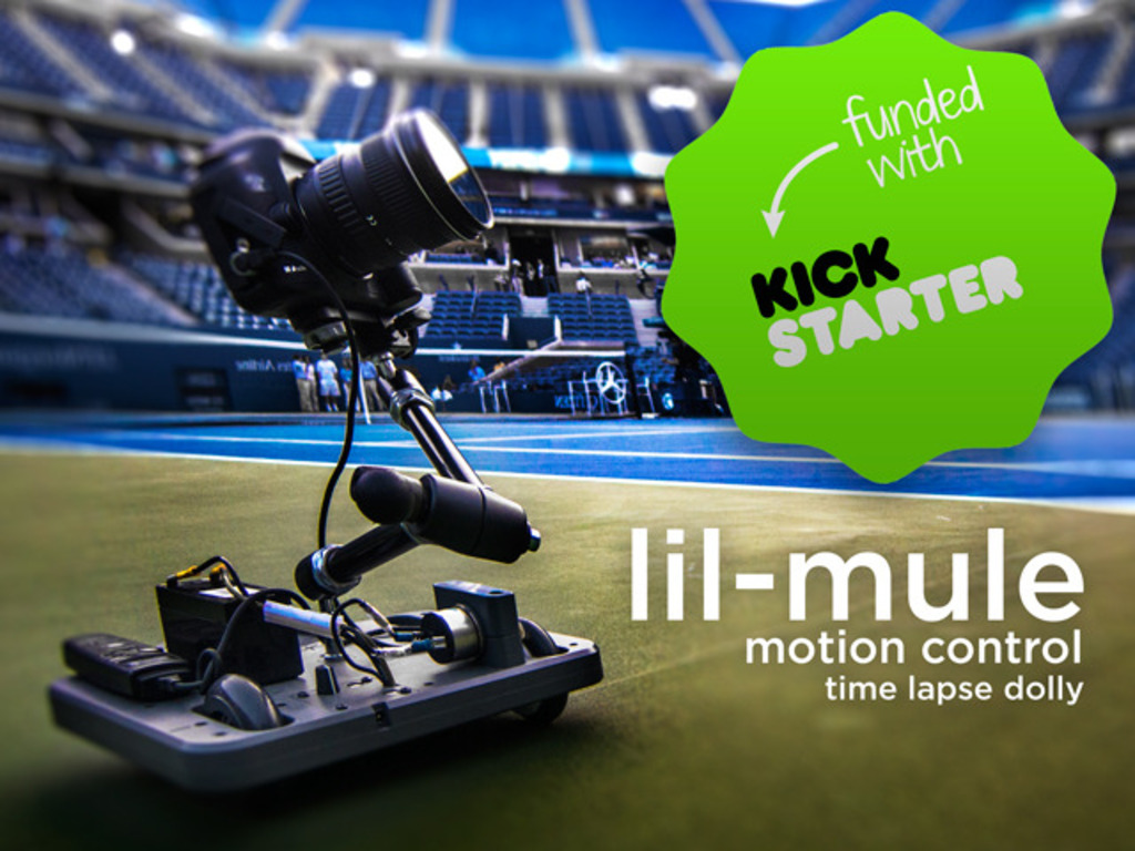 Lil-Mule: Professional Time Lapse and Video Camera Dolly's video poster