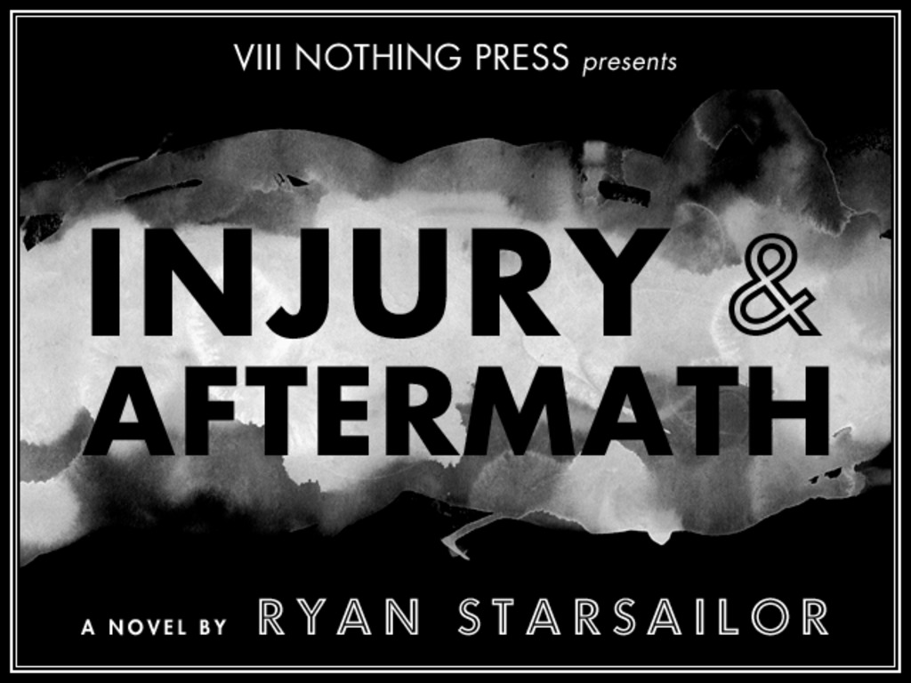 Injury & Aftermath (a novel)'s video poster