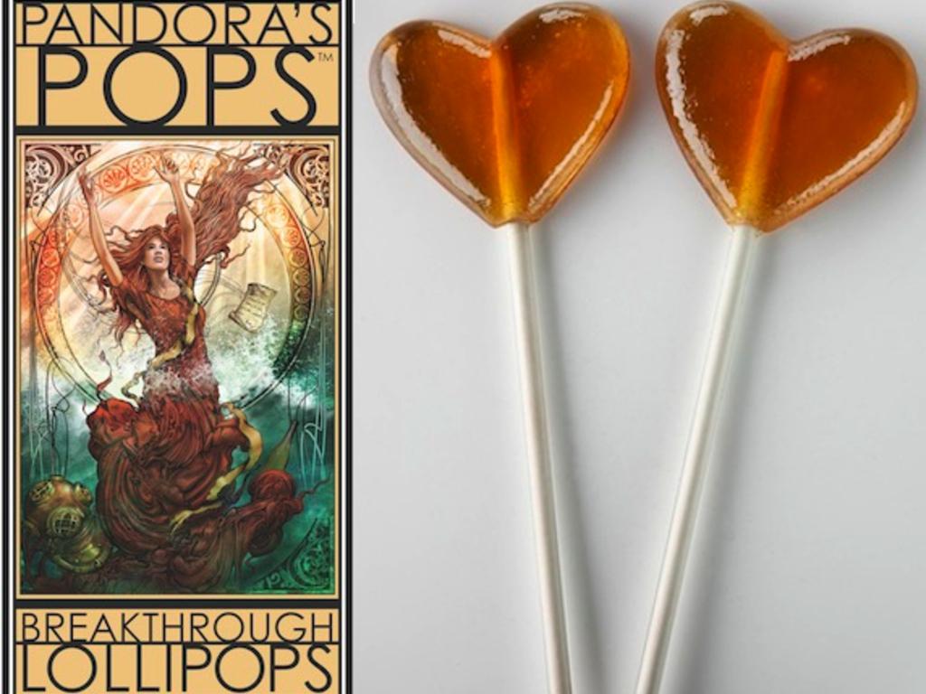 Pandora's Pops: Aphrodisiac Lollipops for Happy Valentines's video poster