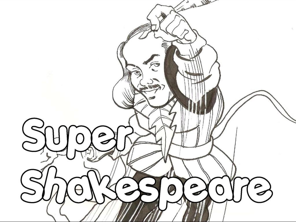 The Super-Shakespeare Series's video poster