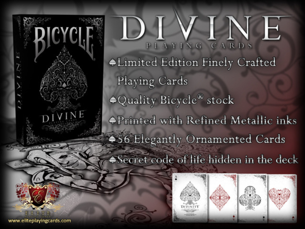 DIVINE Bicycle® Playing Cards Deck's video poster