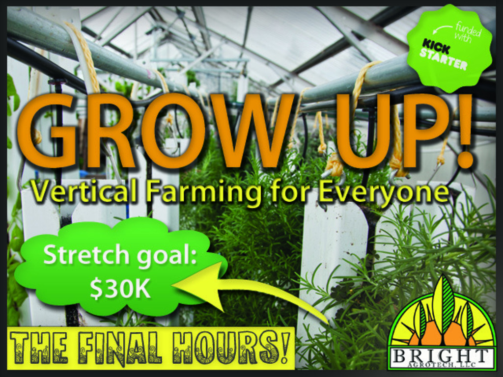 Grow Up! Vertical Farming for Everyone's video poster