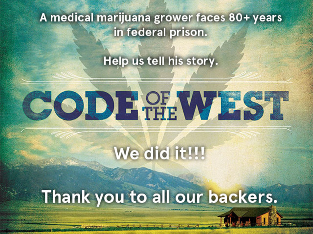 CODE OF THE WEST documentary about medical marijuana's video poster