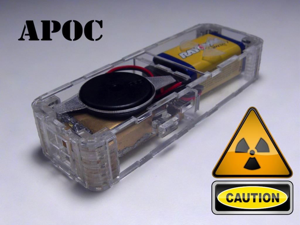APOC: Mini Radiation Detector's video poster