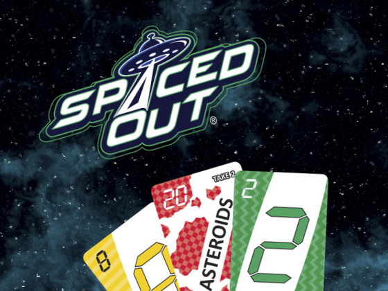 Spaced Out - The Fast-Action Family Card Game
