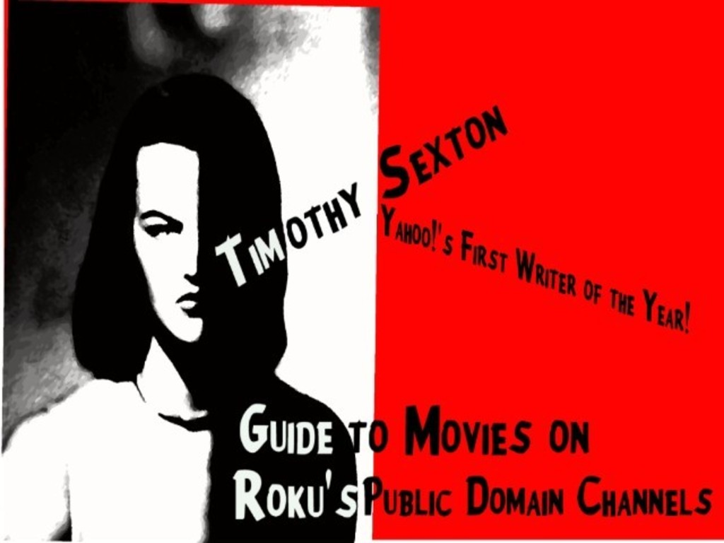 Full Length Review of Movies on Roku Public Domain Channels's video poster