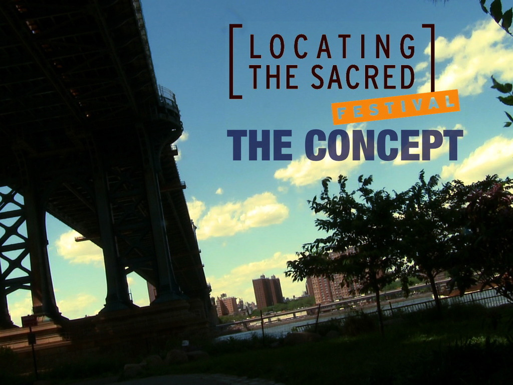 Locating the Sacred's video poster