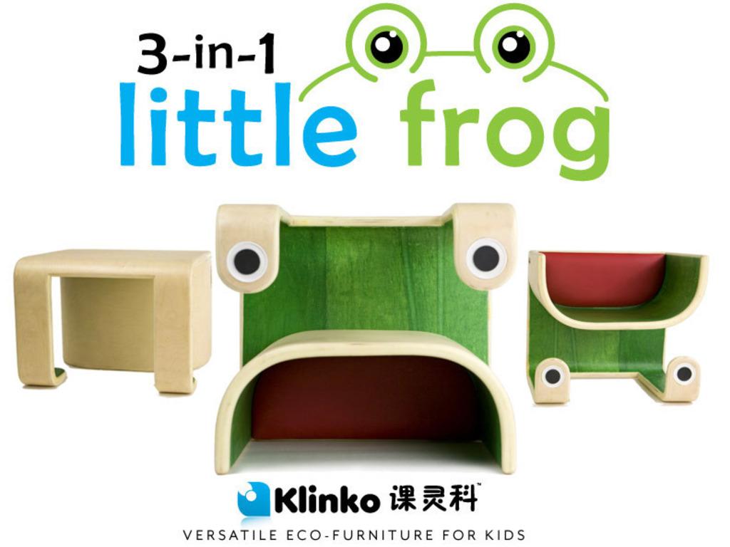 3-in-1 Little Frog - Versatile Kids Furniture's video poster