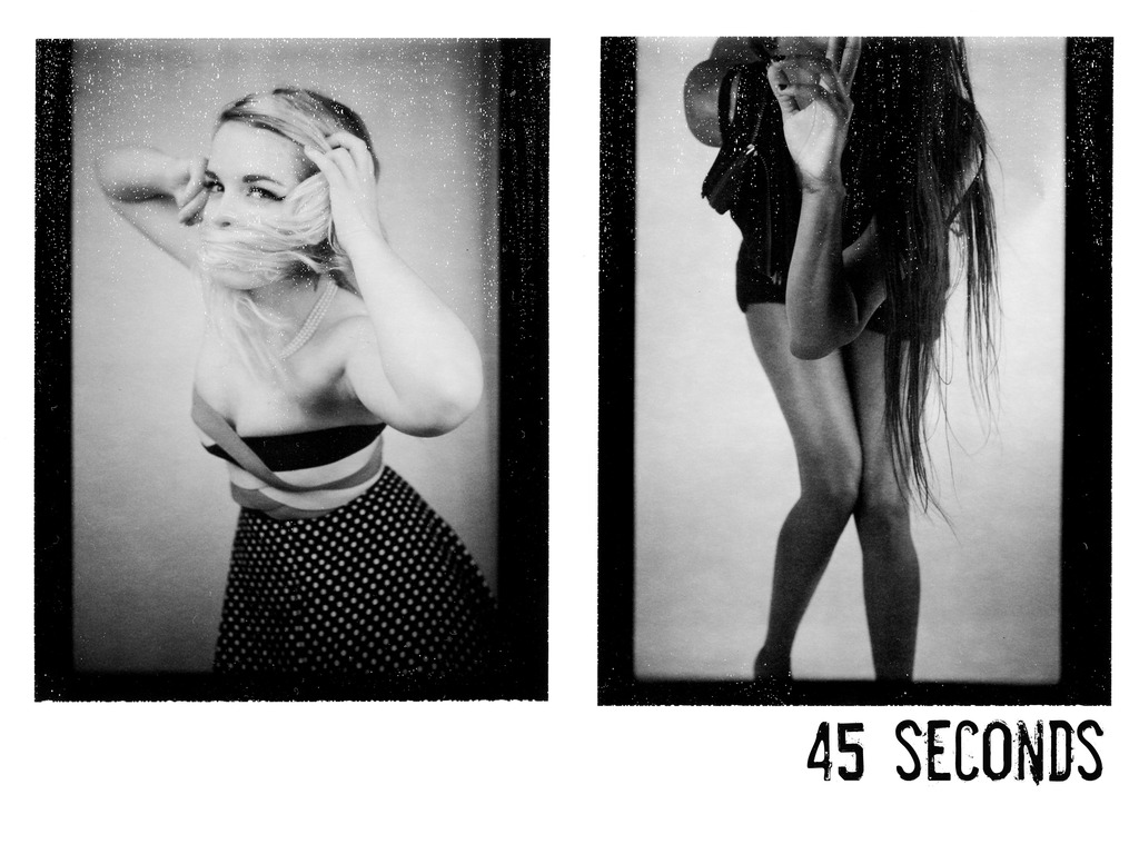 45 SECONDS  - The Exhibition's video poster