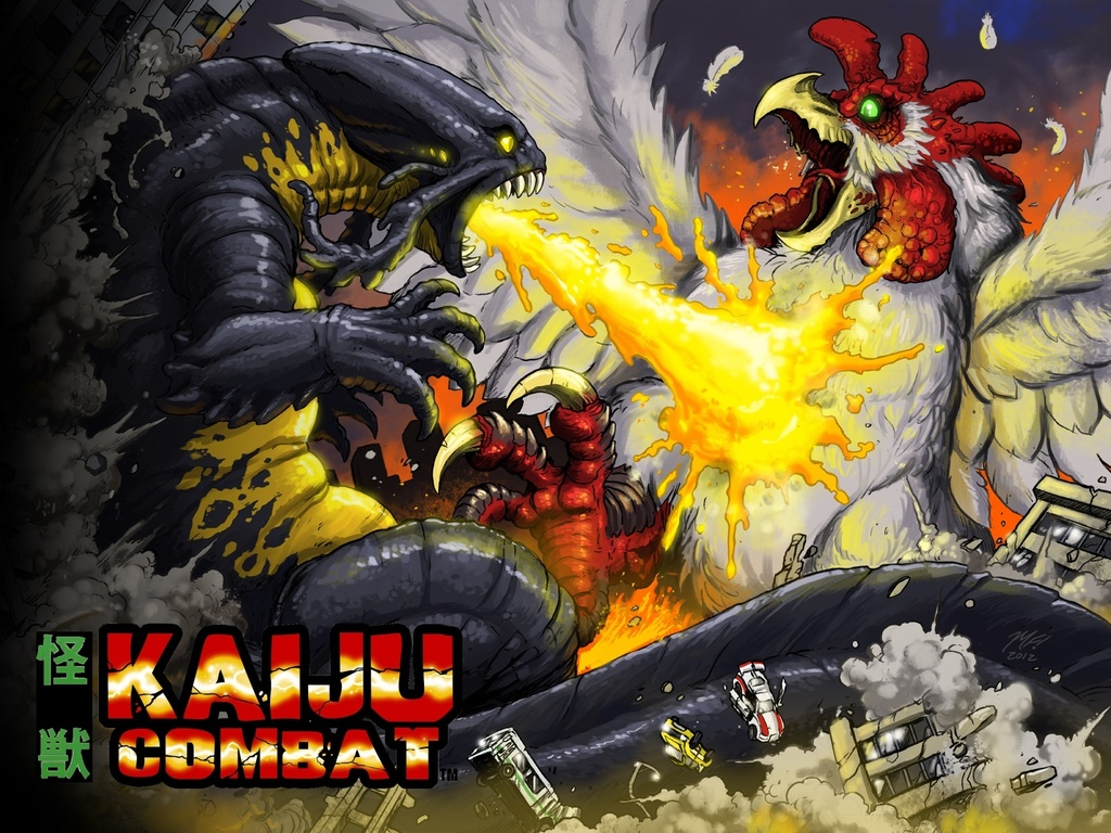 The Fall of Nemesis: Clash of the Kaijujin's video poster