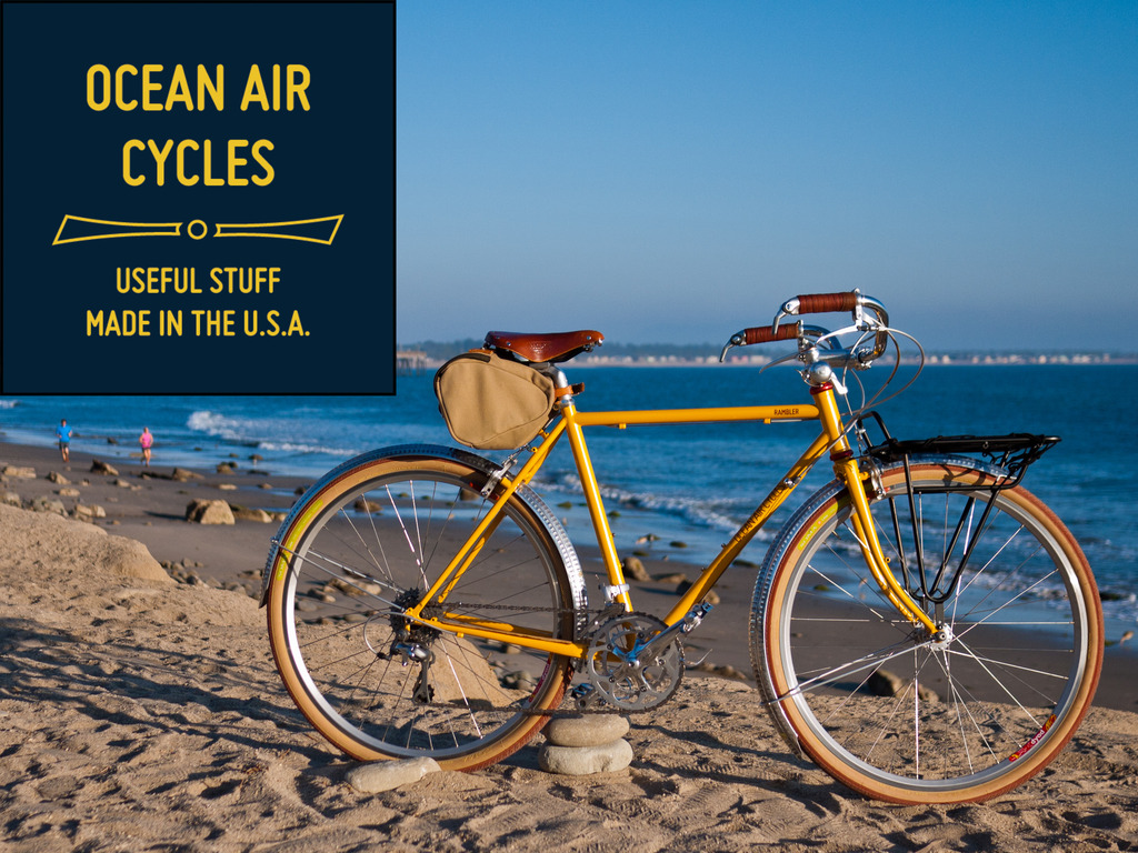 Ocean Air Cycles Rambler - Sport Touring Bicycle Revitalized's video poster