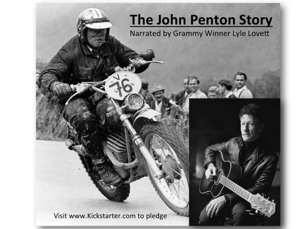 The John Penton Story-Narrated by Lyle Lovett (Relaunch)'s video poster