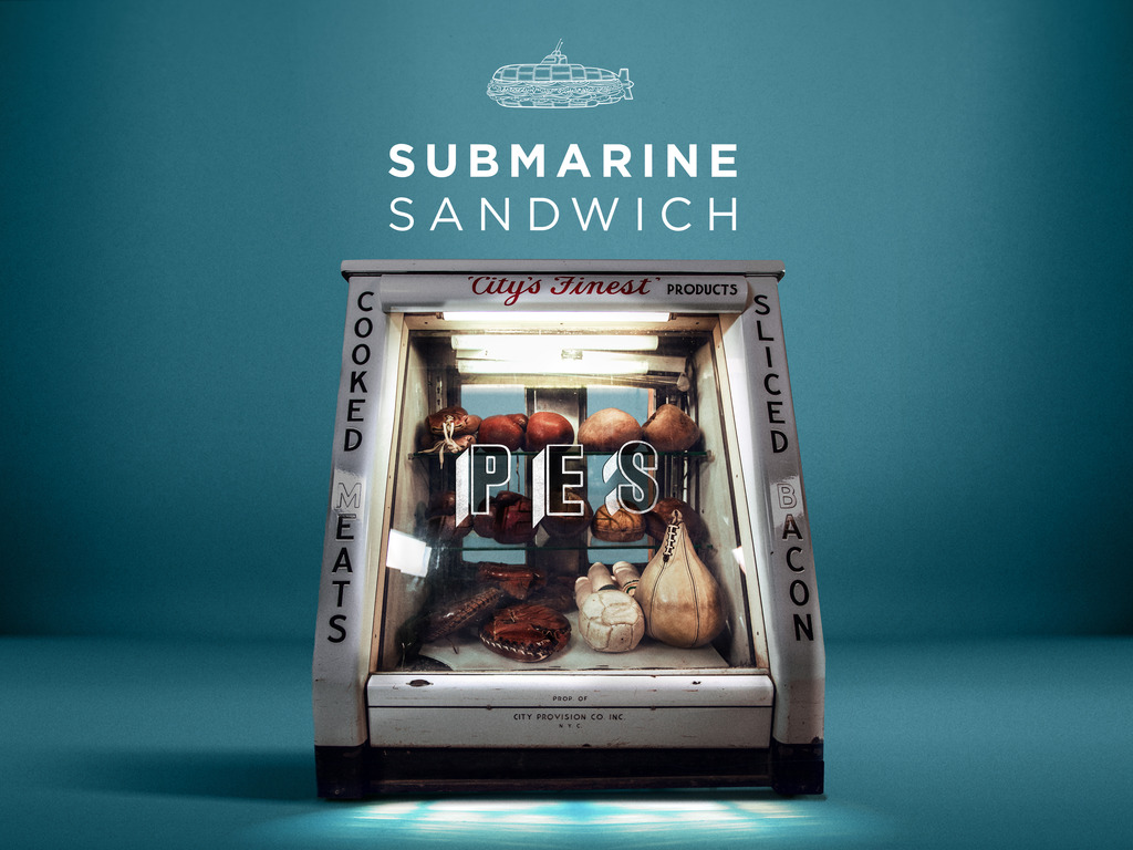 'Submarine Sandwich'  —  a film by PES's video poster